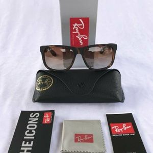 Brand New Authentic Ray Ban Justin polorized😍